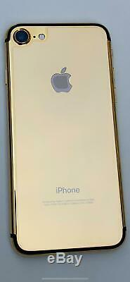 24K 24ct Gold Plated Limited Edition Apple iPhone 7 128GB (Unlocked)