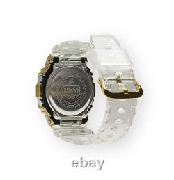 Authentic G-Shock Casio Limited Edition Gold IP Transparent Men Watch GM5600SG-9