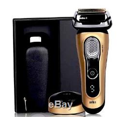 BRAUN 9299s GOLD Limited Edition Series 9 SyncroSonic Rechargeable Shaver NEW