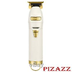 BaByliss PRO Gold & White FX Cordless Limited Edition Skeleton Trimmer FX787W