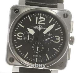 BellRoss BR01-94 Chronograph Date black Dial Automatic Men's Watch 601676