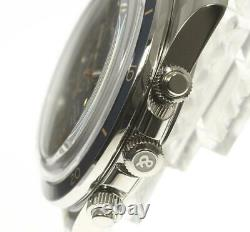 BellRoss vintage BRV2-94 Chronograph Navy Dial Automatic Men's Watch 548126
