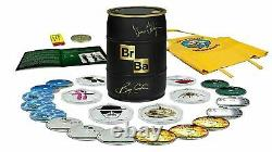 Breaking Bad The Complete Series (Signed Limited Edition Gold Barrel) Blu-ray
