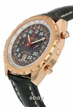 Breitling Chrono-Matic Limited Edition 18K Rose Gold 44mm Men's Watch H2236012