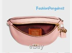 COACH x SELENA Belt Bag LIMITED EDITION F39315, Peony Pink / Gold