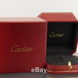 Cartier 18k White Gold Astro Love Ring 1999 Limited Edition 50 With Box