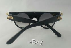 Cazal Legends Mod. 002 Col. 001 Ltd Edition 24k Gold Blk Shades Made In Germany