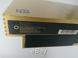 Console PS2 Gold Limited Edition Hyaku-Shiki Mobile Suit Z Gundam sony rare