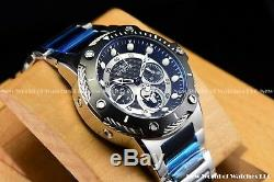 Invicta 39mm Limited Edition Marvel Punisher Bolt Chrono Black Silver SS Watch