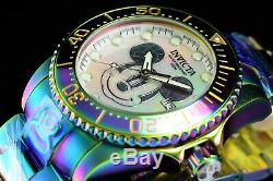 Invicta 47mm Disney Mickey Grand Diver Lim Ed Automatic Iridescent MOP SS Watch