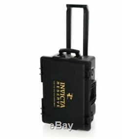 Invicta (50) Slot RESERVE Impact Resistant Limited Edition Black Gold Case Cart