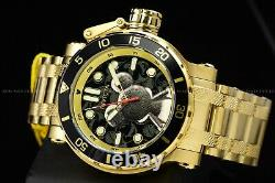 Invicta 52mm Disney Limited Ed. Coalition Forces Black Gold Micky Mouse Watch