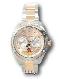 Invicta Disney Women's 38mm Limited Edition Rose Gold Mickey Mouse Watch 32434
