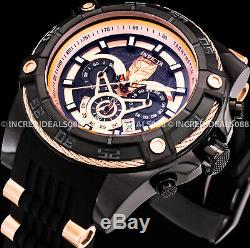 Invicta Marvel Black Panther Speedway Viper Rose Gold Black Chronograph LE Watch