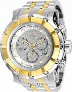 Invicta Reserve Two Tone Gold Plated Grand S1 Rally Ltd Ed Swiss Diamond Watch