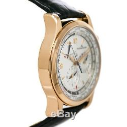 Jaeger LeCoultre Master World Geographic 146.2.32. S 18K Rose Gold withBox & Papers