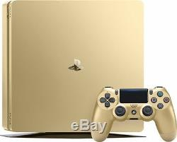 Limited Edition PlayStation 4 1TB Console GOLD Sony PS4 Hardware System NEW