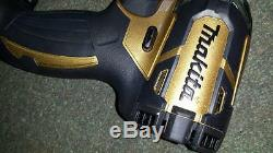 MAKITA TD148DZ GOLD Limited Edition 100 years Makita in2015 BRUSHLESS 18V IMPACT