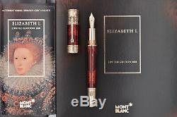 MONTBLANC 2010 Elizabeth I Patron of Art Limited Edition 442/888 Fountain Pen M