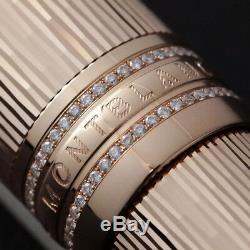 MONTBLANC 90TH ANNIVERSARY LIMITED EDITION FOUNTAIN PEN 18k Gold 90 DIAMONDS
