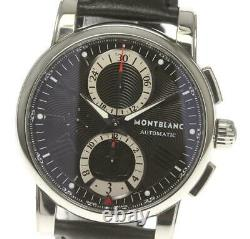 MONTBLANC Star 4810 7104 Chronograph black Dial Automatic Men's Watch 554595