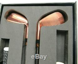 Mizuno MP-20 Limited Edition Copper Iron set 3-PW Dymaic Gold Tour Issue S400 #7