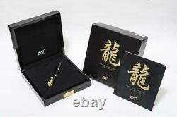 Montblanc Fountain Pen Year Of The Golden Dragon Limited Edition 2000 Reference