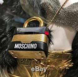 Moschino X H&M Leather Shoulder Bag LIMITED EDITION EXCLUSIVE Tote Pouch Purse