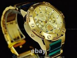 NWT Invicta 39mm Women Limited Ed Marvel ENDGAME Spider man Gold Tone SS Watch