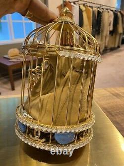 New CHANEL Bird Cage Bag-A Unique Runway Evening Bag From 2020-202 FW Collection