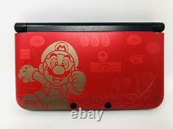 Nintendo 3DS XL New Super Mario Bros. 2 Gold Limited Edition Game Console Bundle