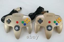Nintendo 64 Gold Edition Console System N64 Nintendo Limited Used