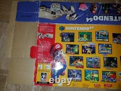 Nintendo 64 N64 Gold Console System Toys r Us Exclusive Limited Edition Box ONLY