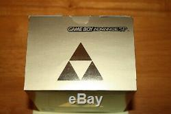 Nintendo Gameboy Advance SP Zelda Limited Edition Console Bundle NEW SEALED RARE