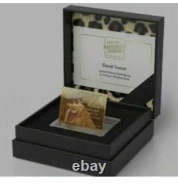 Only Fools And Horses 24 K Gold stamp. LIMITED EDITION 40TH anniversary