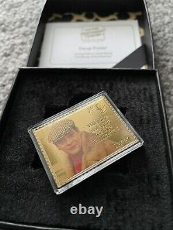 Only Fools And Horses Del Boy 24k Gold Stamp Limited Edition