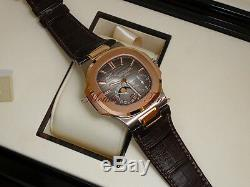 Patek Philippe 5712GR-001 Nautilus Rose & White Gold Moonphase Limited Edition