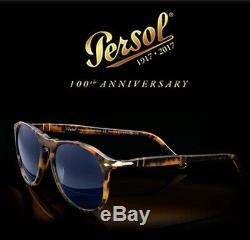 Persol Po 9649 Sunglasses Solid Gold 100th Anniversary Limited Edition N. 90/200