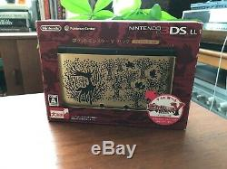Pokemon Center Nintendo 3DS LL Pokemon Y Gold Limited Edition, Brand New, US