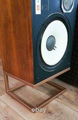 Premium limited edition Gold-coppered steel stands JBL L100 L166 4311 4312 4310