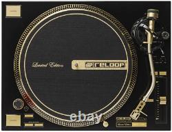 RARE Erste Serie 20 Years Anniversary Reloop RP-7000 GLD Limited Edition