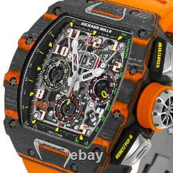 Richard Mille RM11-03 Mclaren Orange Quartz LMTD and Carbon TPT Watch RM11-03