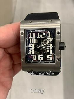 Richard Mille Rm016 Ultra Flat Titanium Skeleton Arabic Dial Automatic With Date