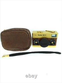 Rollei 35 S Gold 60th years Limited Edition Compact Film Camera USED