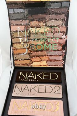 URBAN DECAY Naked The Perfect 3Some Vault Limited Edition Box Set