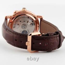 Ulysse Nardin GMT +/- Perpetual 18K Rose Gold Copper Dial 322-88 Limited Ed 40mm