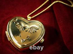 Undertale Limited Edition Gold Heart Musical Locket Music Box Necklace Jewelry