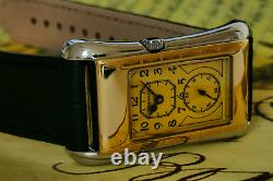 Waterman's 1930s period vintage style watch Limited Edition Art Deco No 726A3