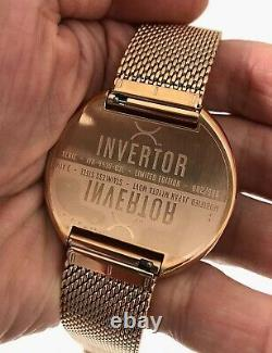 Xeric Invertor Automatic Watch Limited Edition #2/999 NO RESERVE